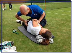 sports injury treatment in london