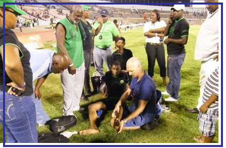 sports injury treatment for athlete in Jamaica