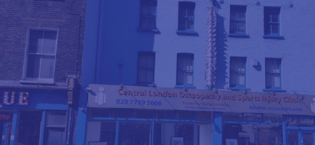 our osteopaths in London are located in Old Street. Osteopathy building in London