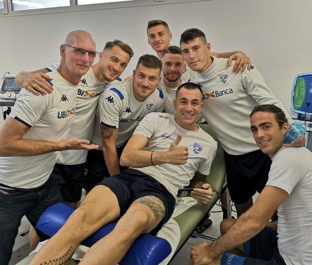 sports osteopath with serie A Brescia Calcio FC